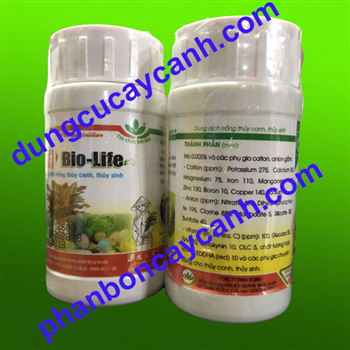Dung Dịch Thuỷ Canh Biolife 100ml